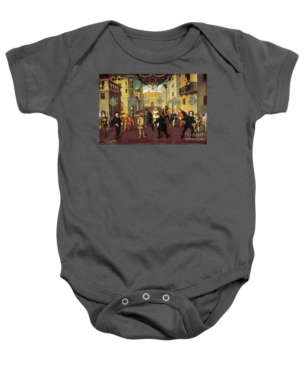 1670 Baby Onesie featuring the photograph France: Comedy, 1670 by Granger