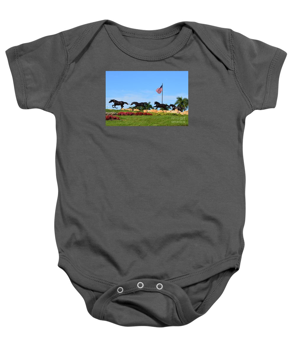 Baby Onesie featuring the photograph Freedom Dream by Lenin Caraballo