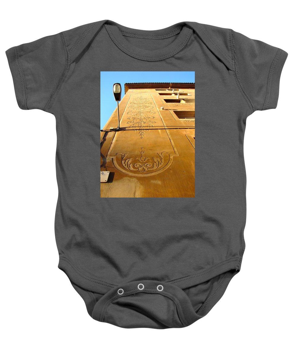 Barcelona Baby Onesie featuring the photograph From Barcelona 1 by Ana Maria Edulescu