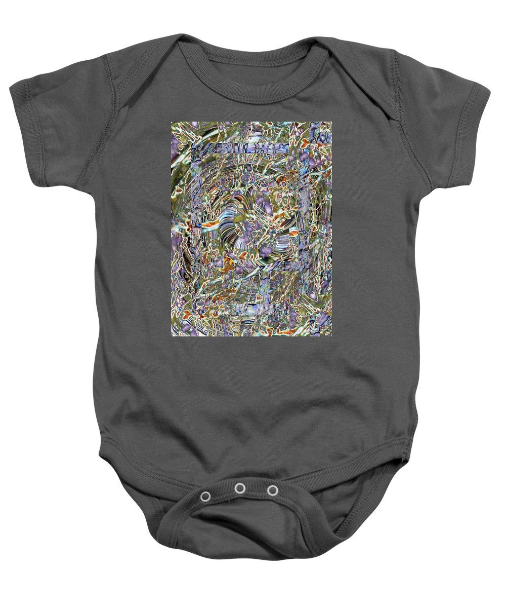 Fused Baby Onesie featuring the photograph Fused by Tim Allen