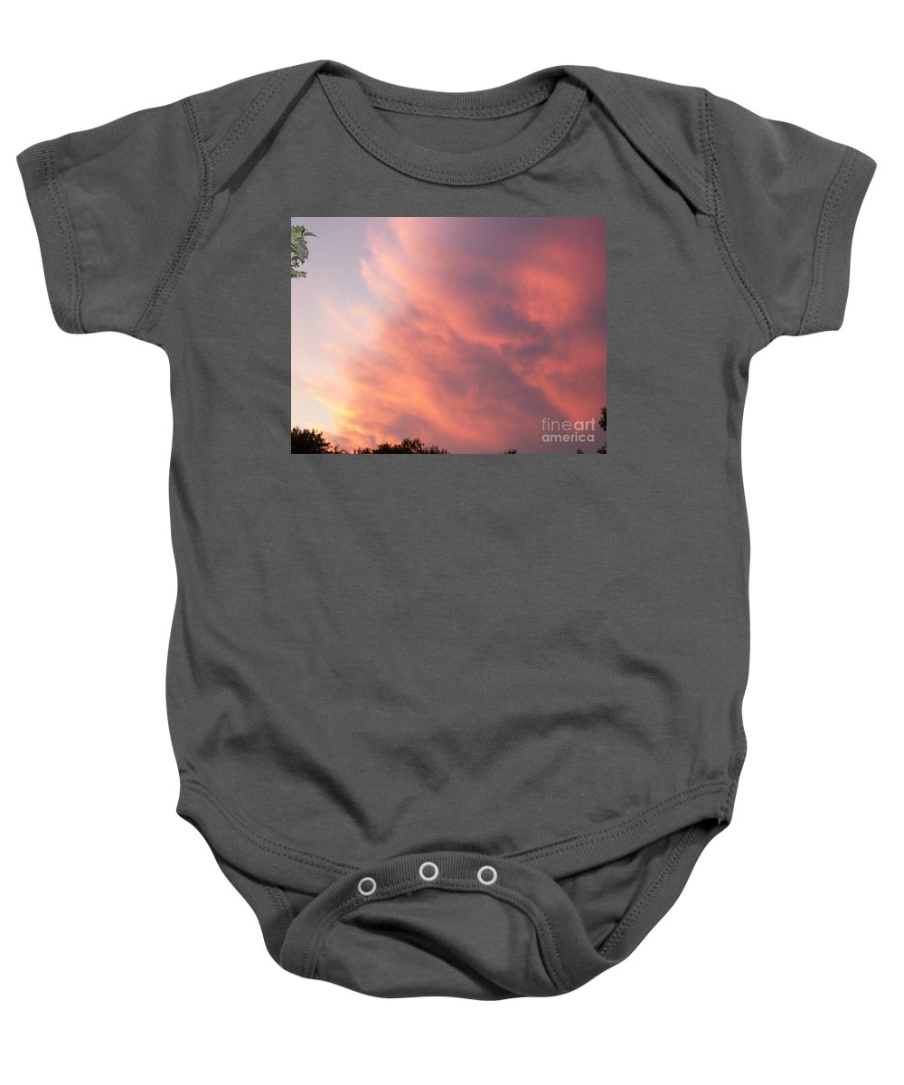 Nature Baby Onesie featuring the photograph Futile Faces by Stephen King