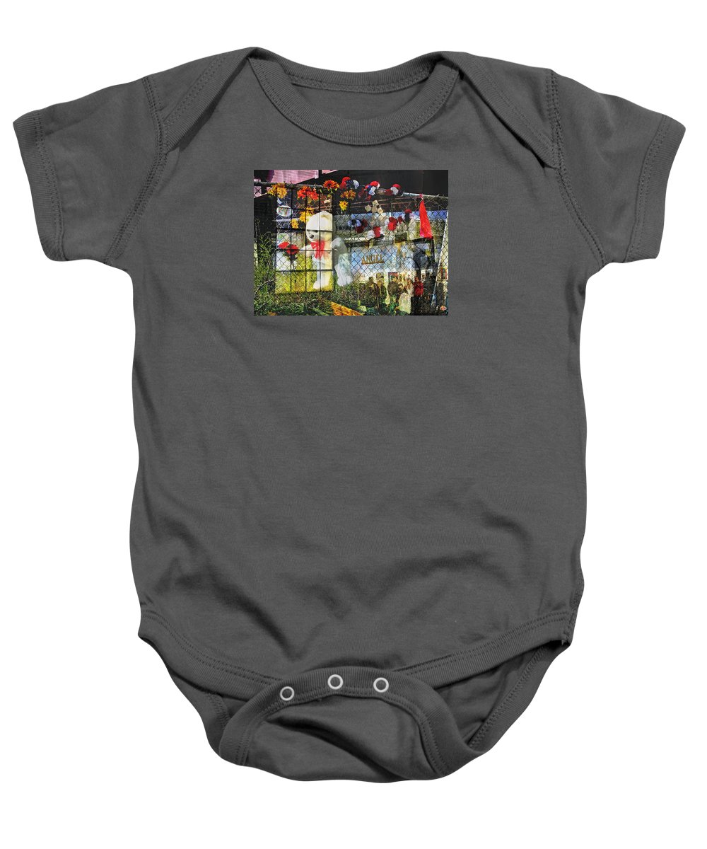Bold Baby Onesie featuring the photograph Gallery Angel by David Thompson