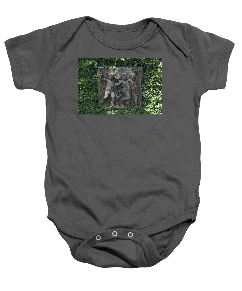 Garden Baby Onesie featuring the photograph Garden Children by Dale Powell
