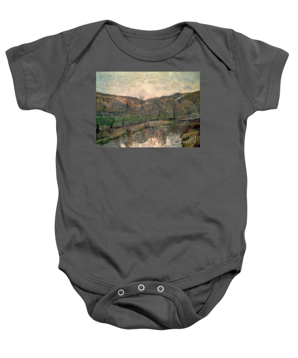 1888 Baby Onesie featuring the photograph Gauguin: Brittany, 1888 by Granger