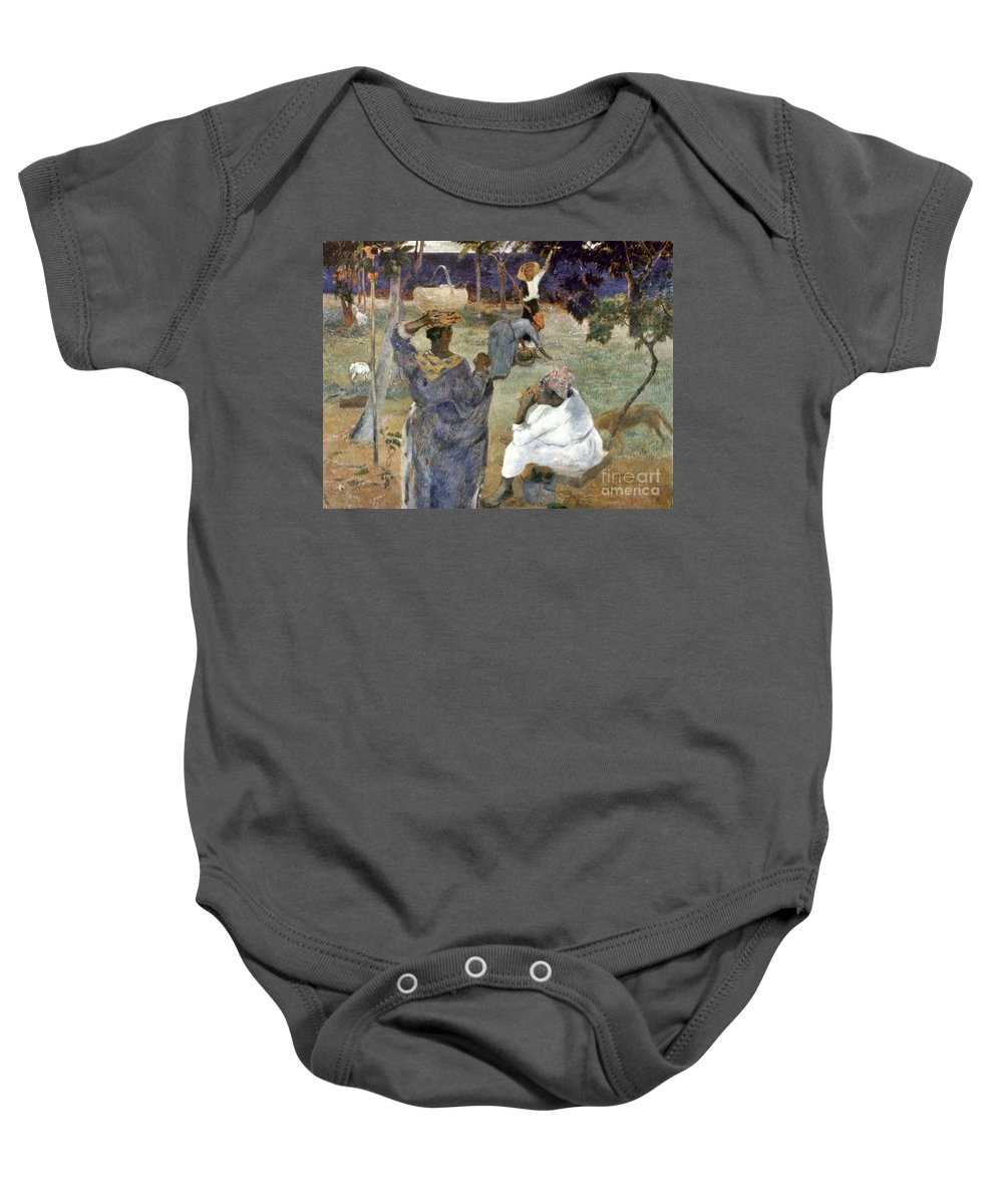 1887 Baby Onesie featuring the photograph Gauguin: Martinique, 1887 by Granger
