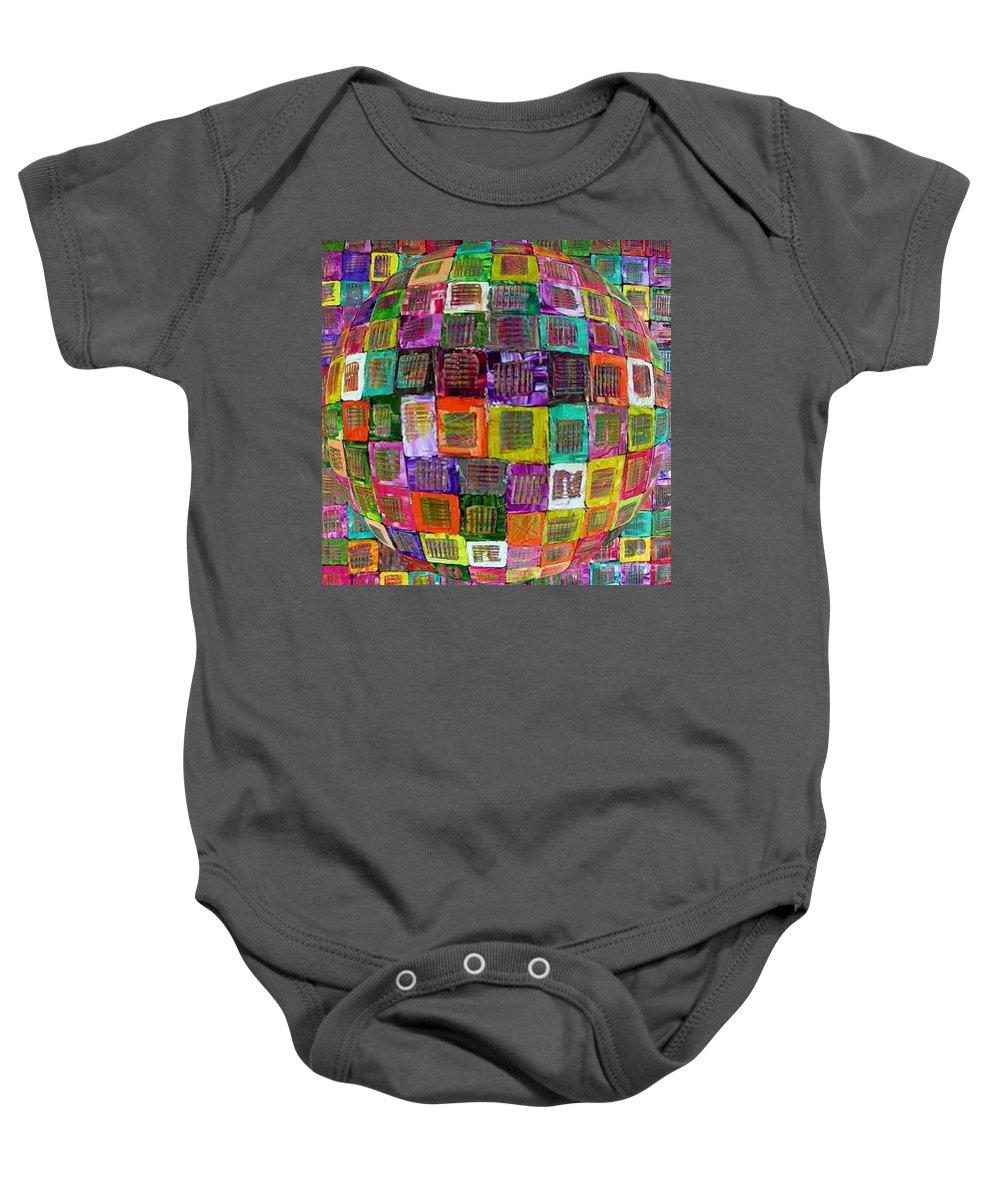Genesis Baby Onesie featuring the painting Genesis by Dawn Hough Sebaugh