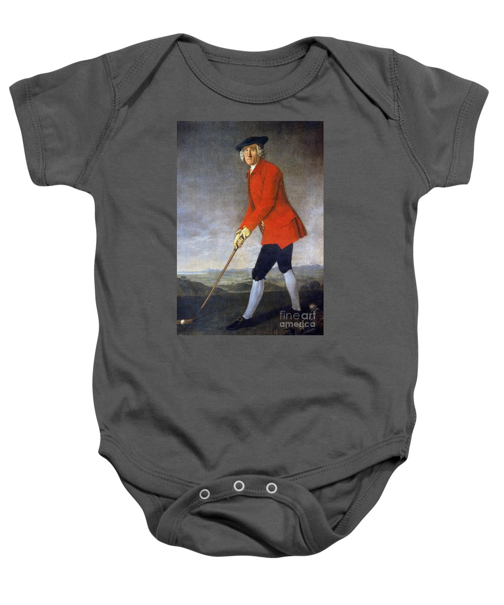 18th Century Baby Onesie featuring the photograph George Chambers: by Granger