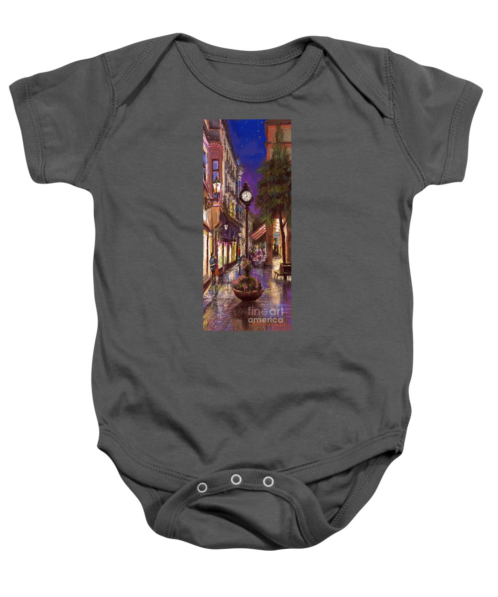 Pastel Baby Onesie featuring the painting Germany Baden-baden 11 by Yuriy Shevchuk