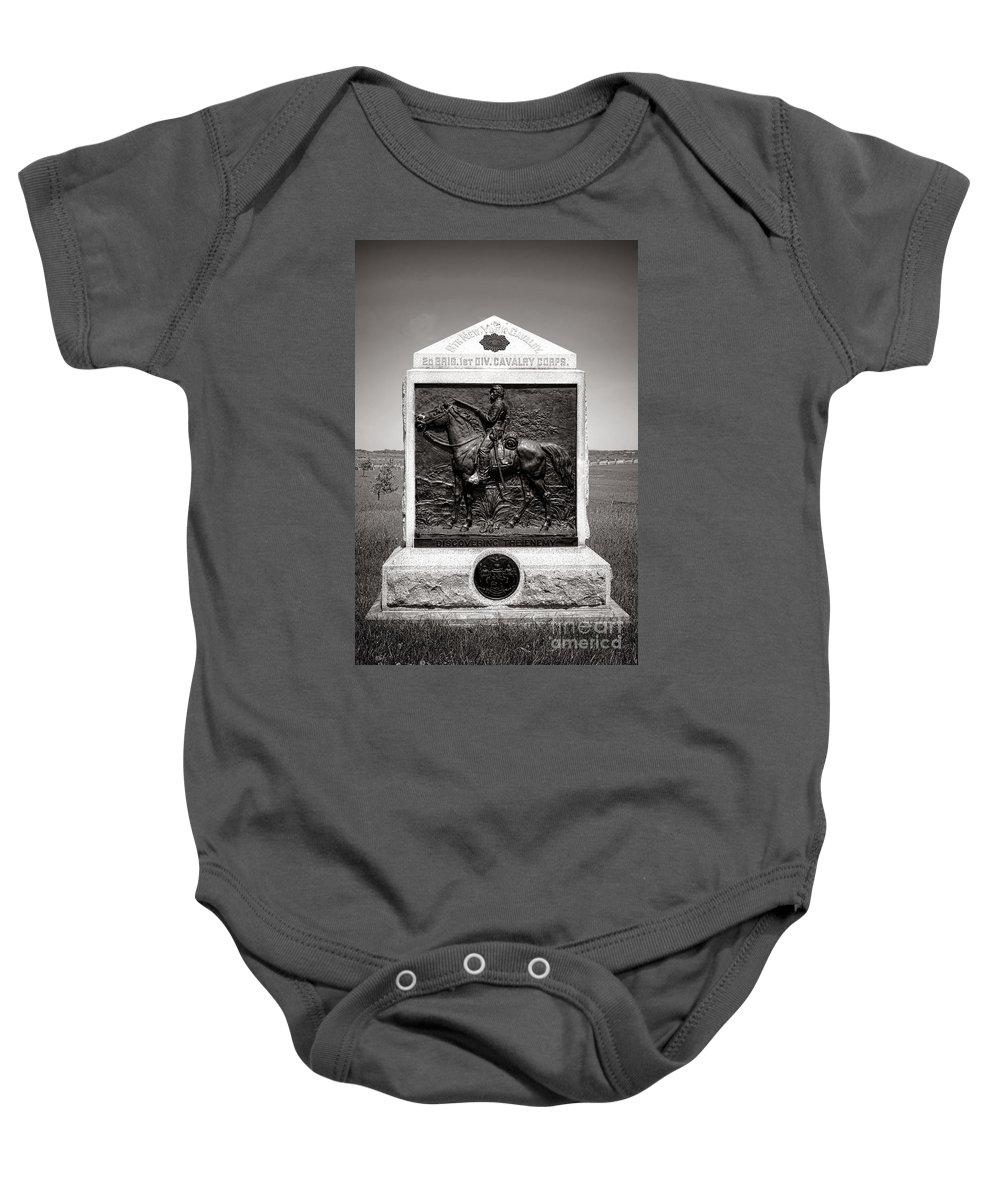 Gettysburg Battlefield Baby Onesies