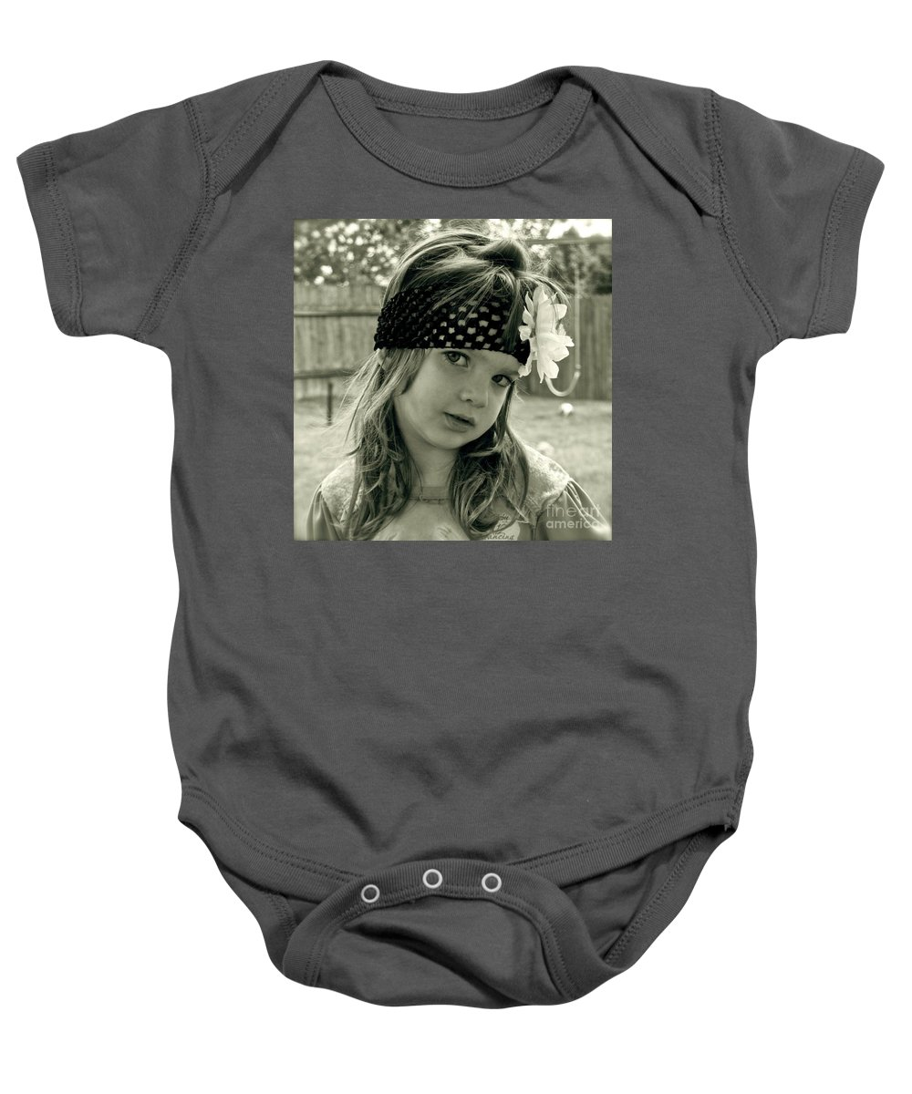 Girl Baby Onesie featuring the photograph Girls Rule by Gwyn Newcombe