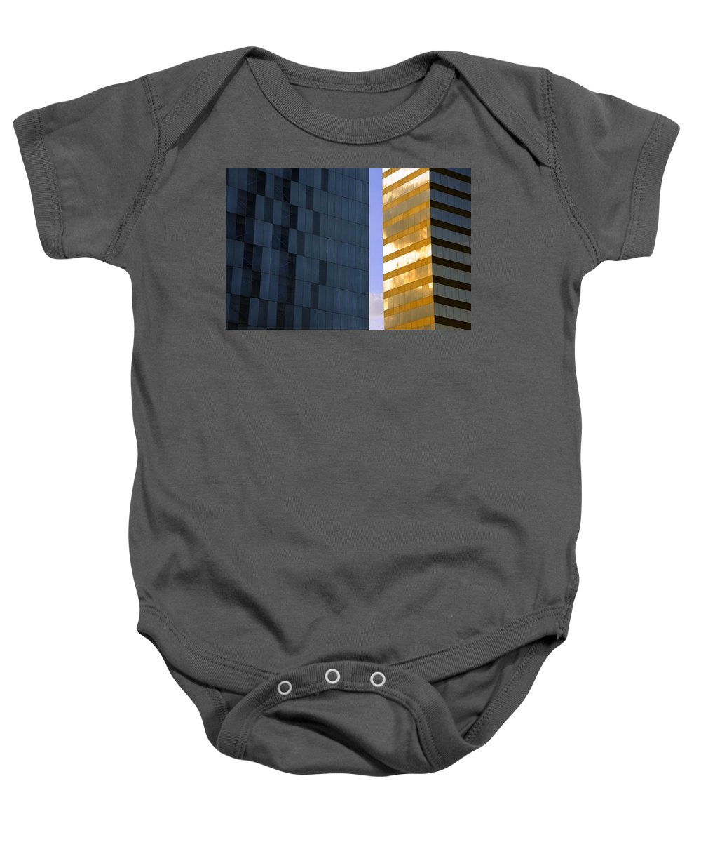 Gold Standard Baby Onesie featuring the photograph Gold Standard Df by Skip Hunt