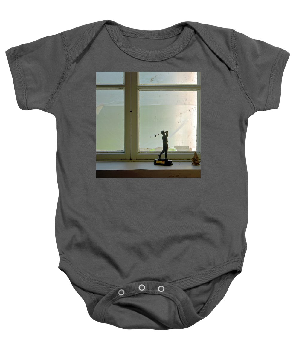 Golfer Baby Onesie featuring the photograph Golf Prize by Jarmo Honkanen