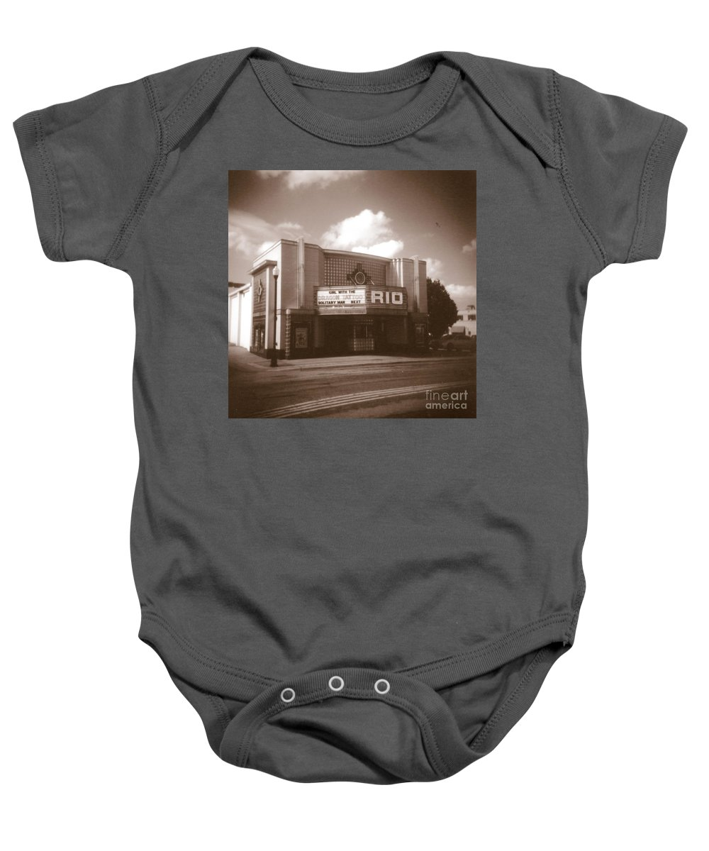 Fine Art Baby Onesie featuring the photograph Good Time Theater by Crystal Nederman