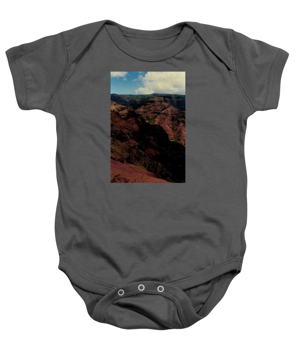 Kauai Baby Onesie featuring the photograph Grand Canyon - Hawaii by Michael Bergman