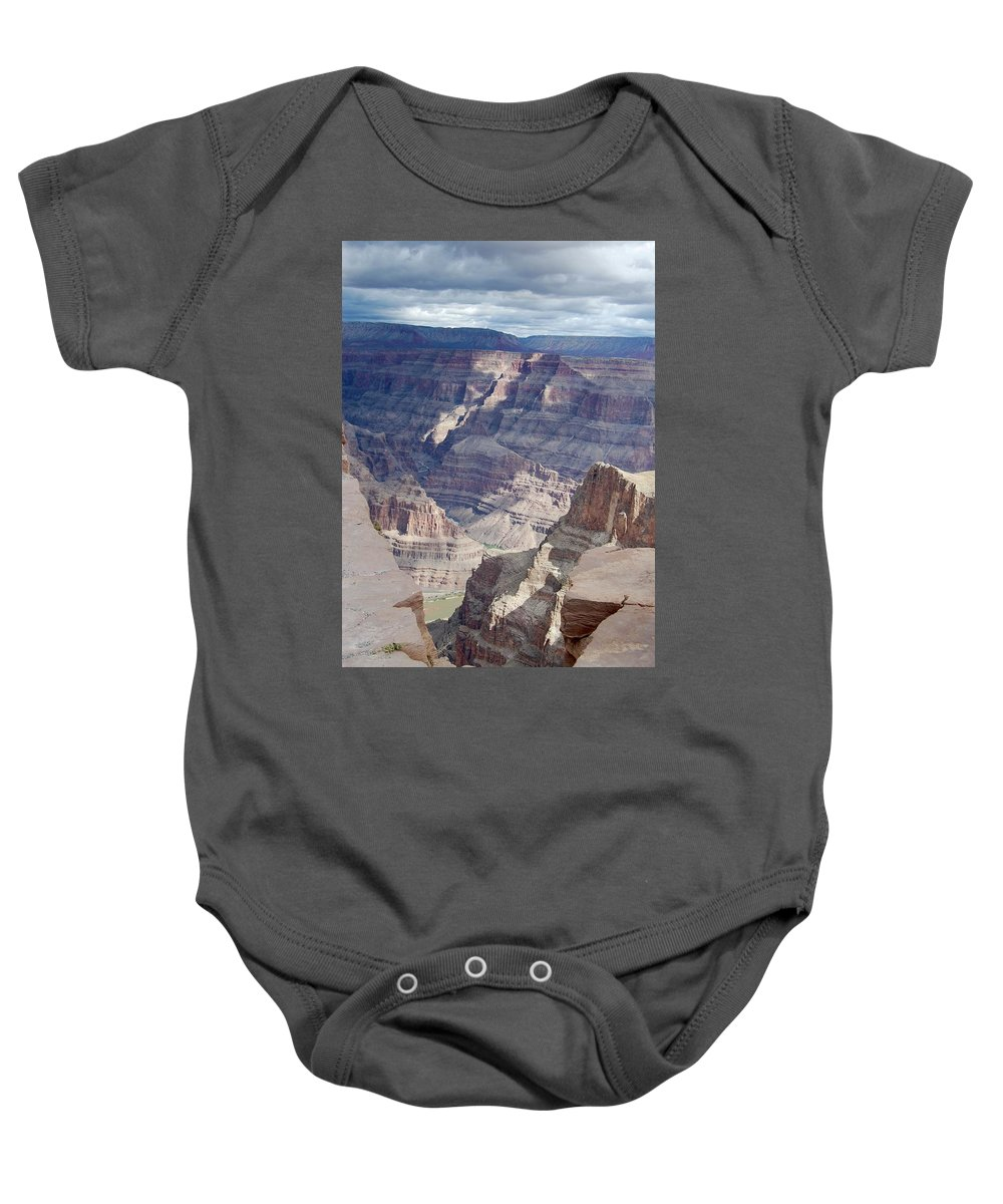 Grand Canyon Baby Onesie featuring the photograph Grand Canyon by Terry Crowley
