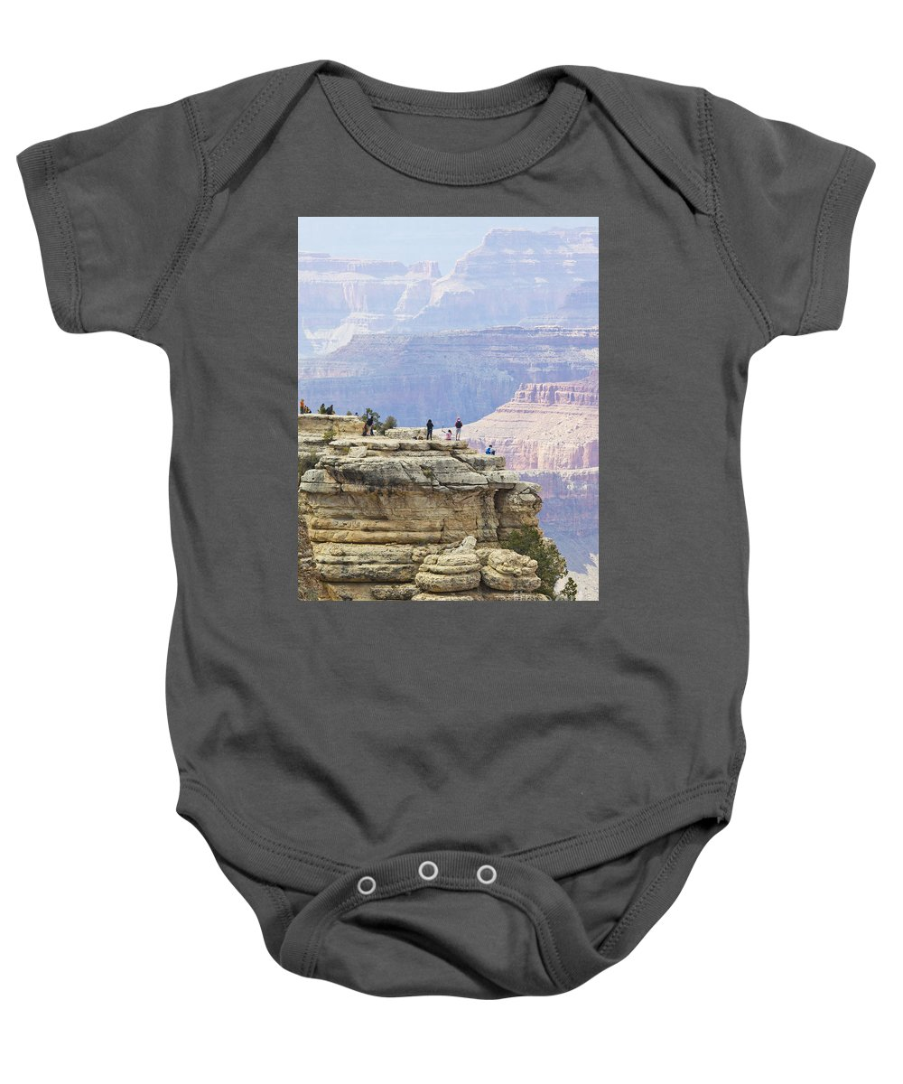 Grand Canyon Baby Onesie featuring the photograph Grand Canyon Vista by Chris Dutton