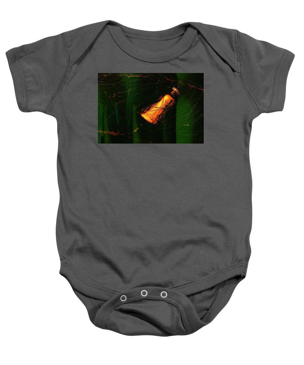 Vintage Baby Onesie featuring the photograph Grandma's Christmas Ornament by Don Barone