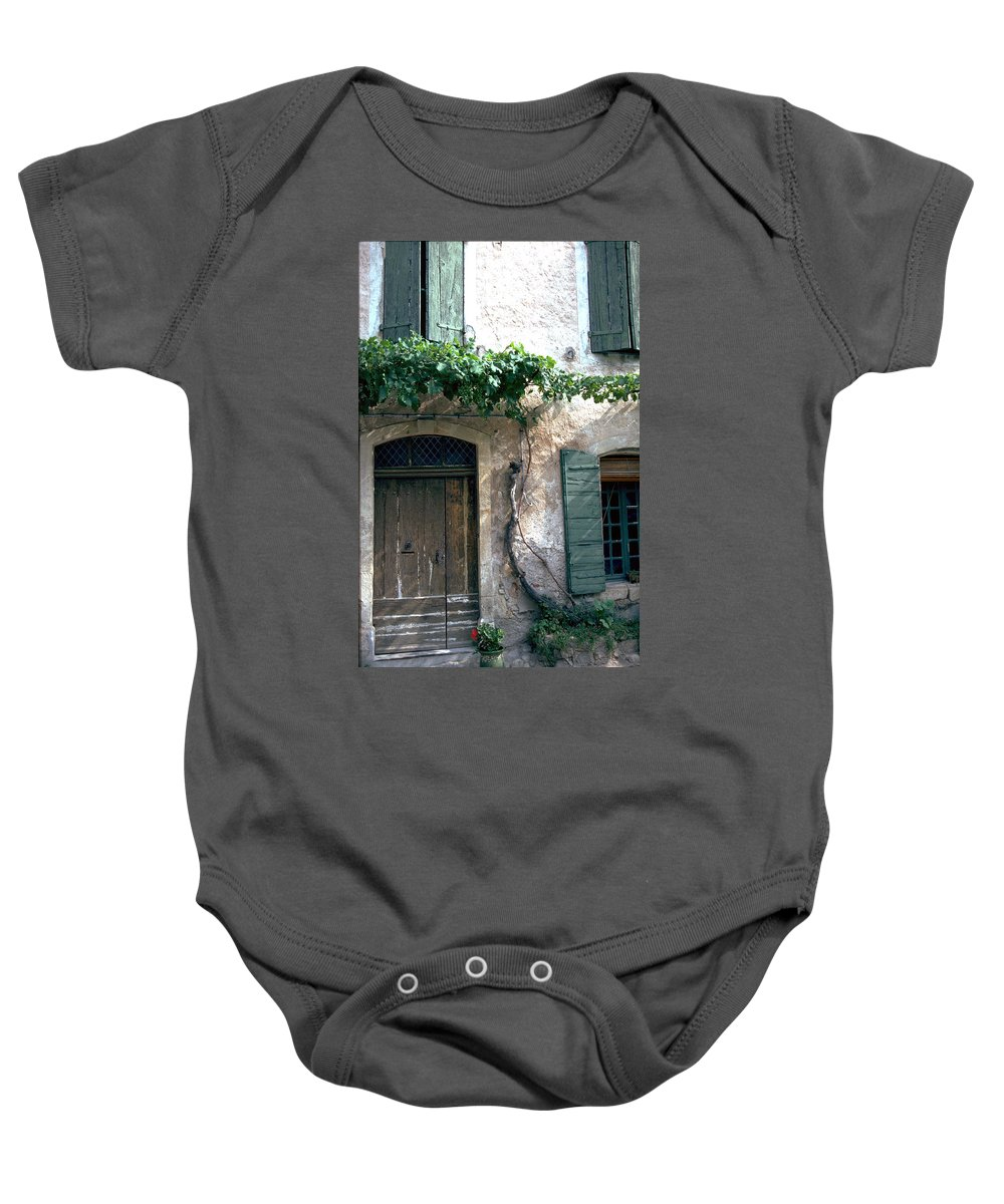 Grapevine Baby Onesie featuring the photograph Grapevine by Flavia Westerwelle