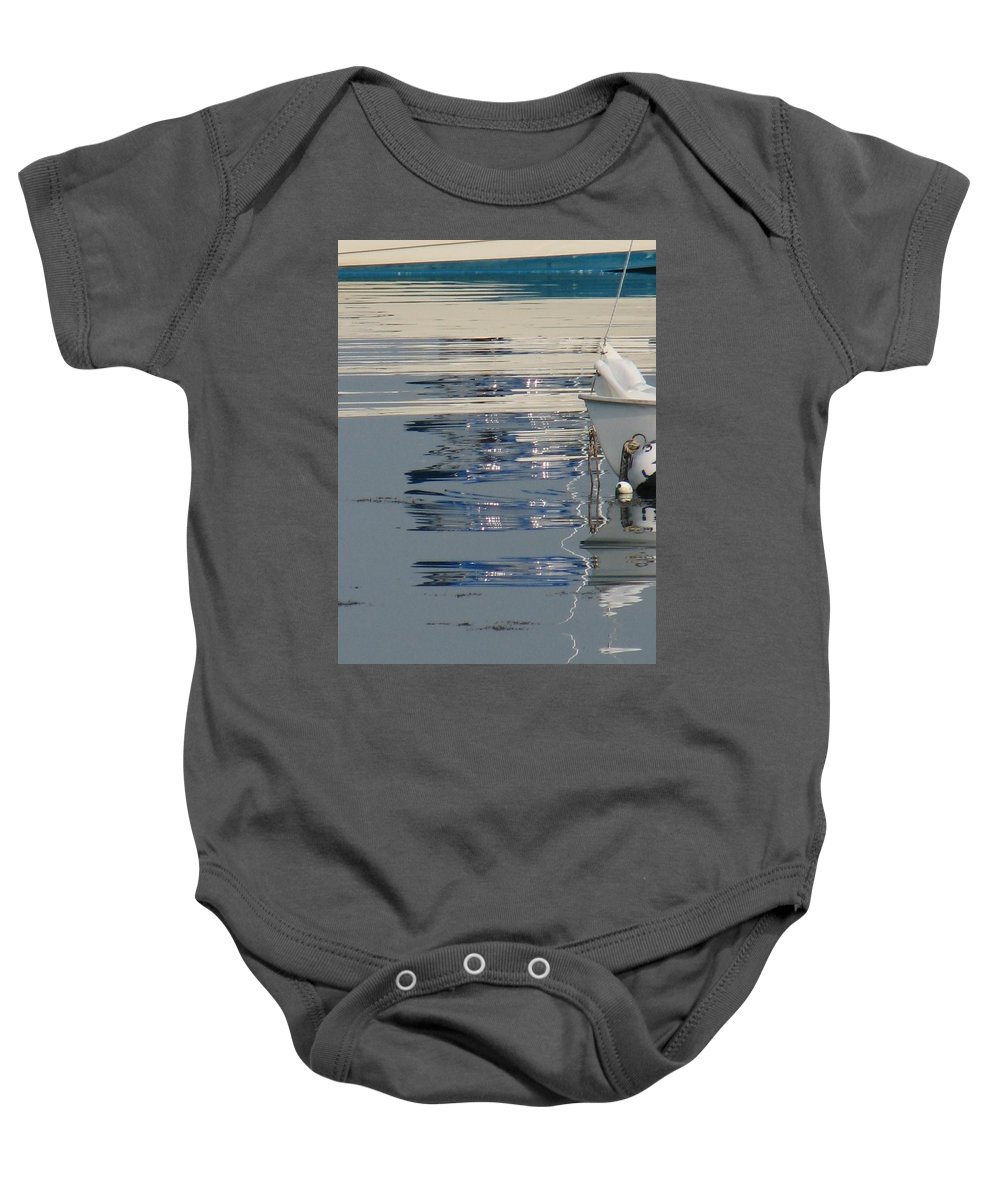 Ocean Baby Onesie featuring the photograph Great Day For Sailing by Kelly Mezzapelle
