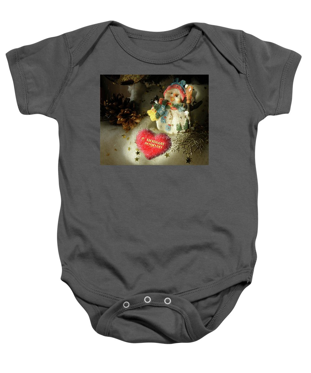 New Year Baby Onesie featuring the photograph Happy New Year by Alex Lim