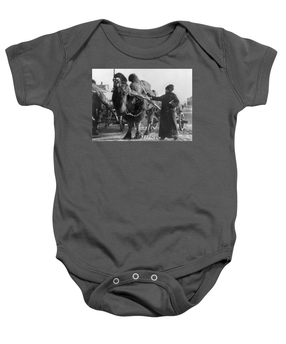 20th Century Baby Onesie featuring the painting Harriet Chalmers Adams by Granger