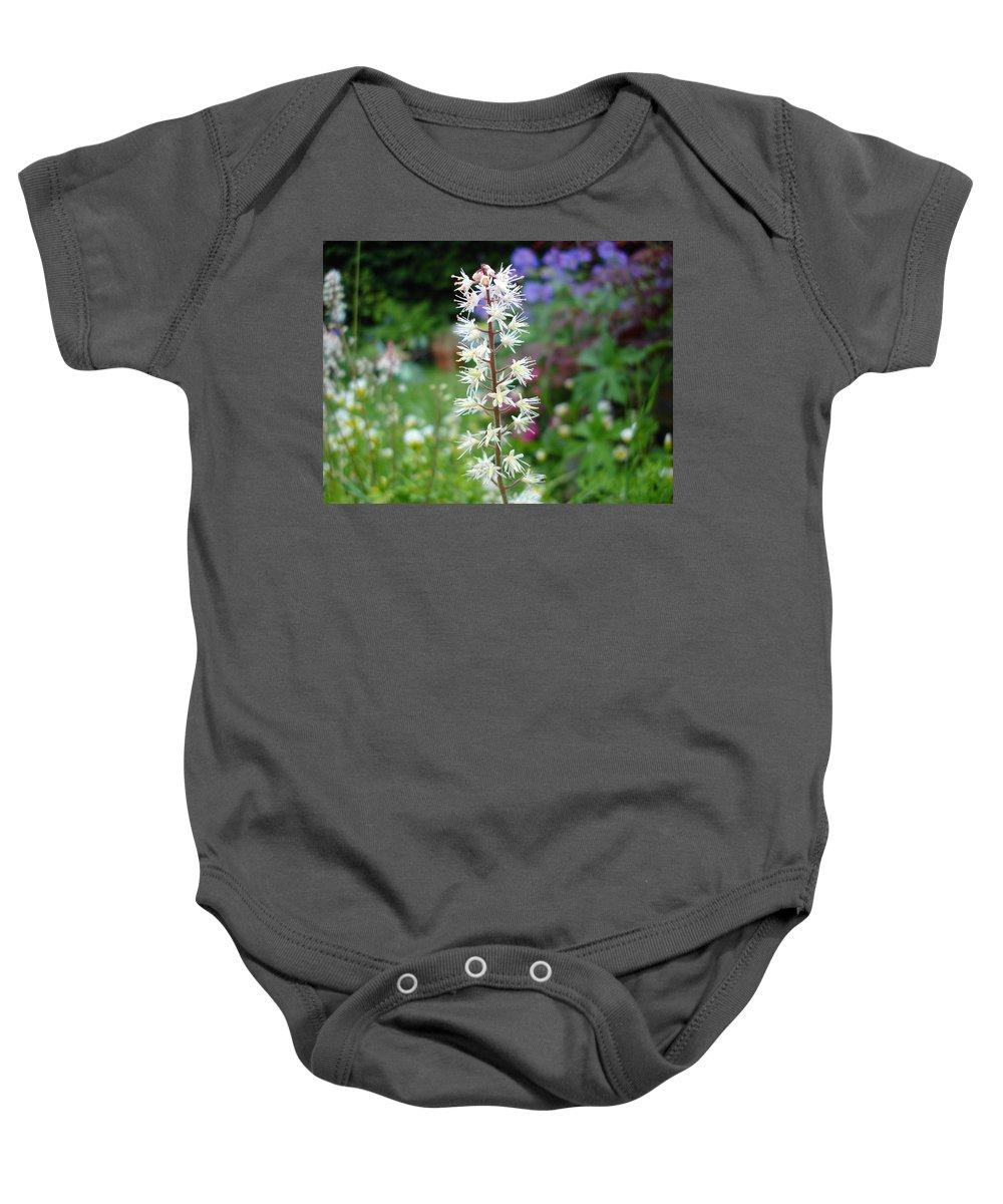 Flower Baby Onesie featuring the photograph Heucharella - Fairy Bells by Susan Baker