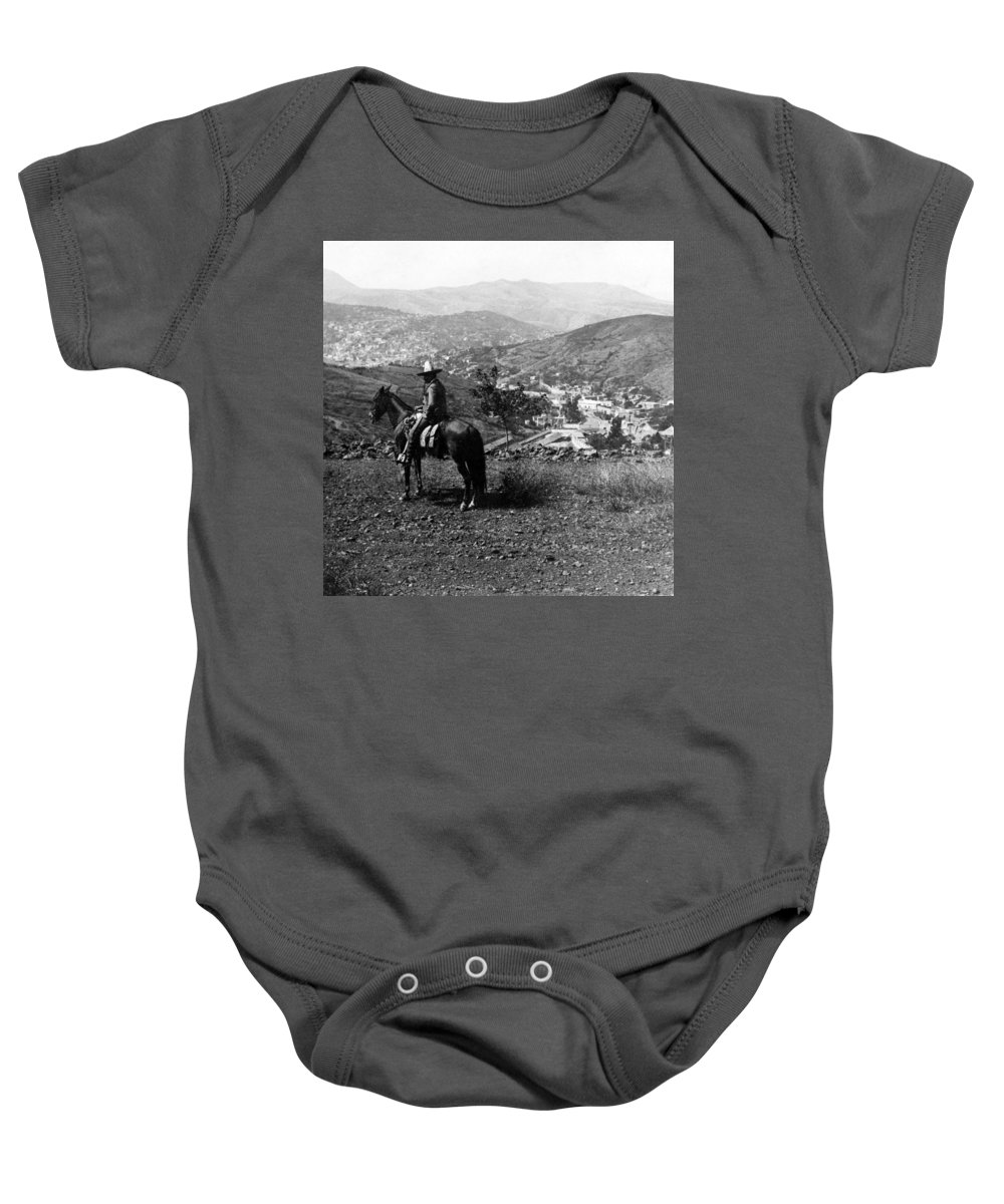 Guanajuato Baby Onesie featuring the photograph Hills Of Guanajuato - Mexico - C 1911 by International Images