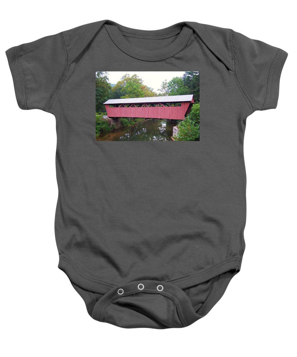 Hokes Mill Baby Onesie featuring the photograph Hokes Mill by Eric Liller