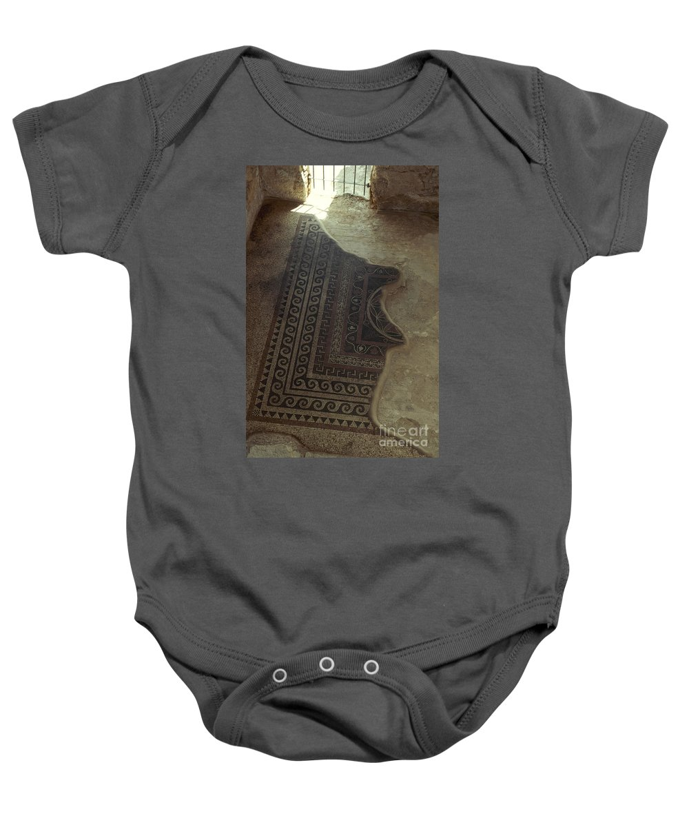 20th Century Baby Onesie featuring the photograph Holy Land: Masada by Granger