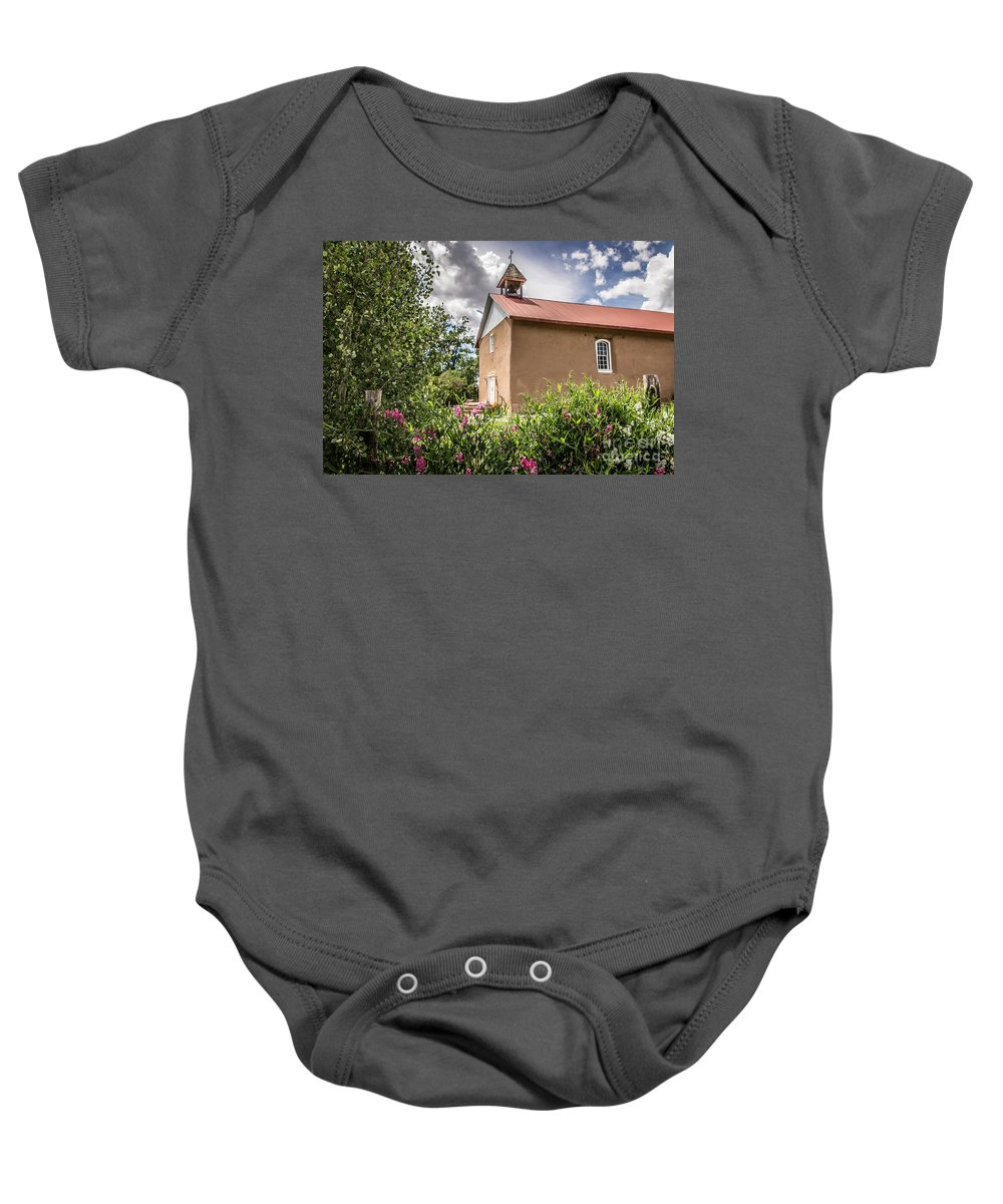 Holy Trinity Baby Onesie featuring the photograph Holy Trinity by Lynn Sprowl