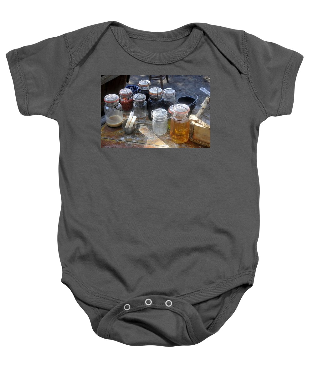 Homemade Baby Onesie featuring the photograph Homemade by David Lee Thompson