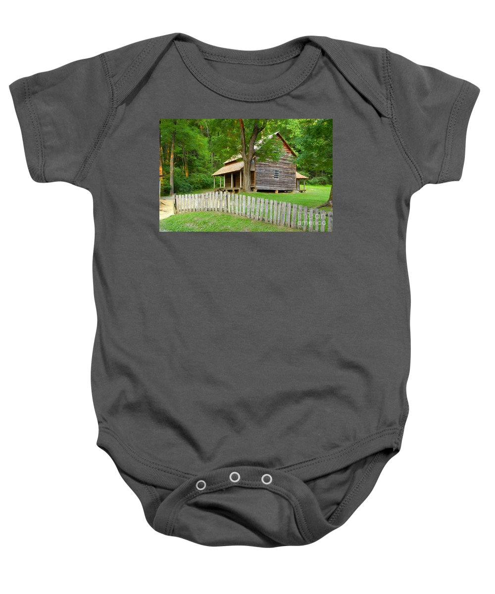 Home Baby Onesie featuring the photograph Homestead by David Lee Thompson