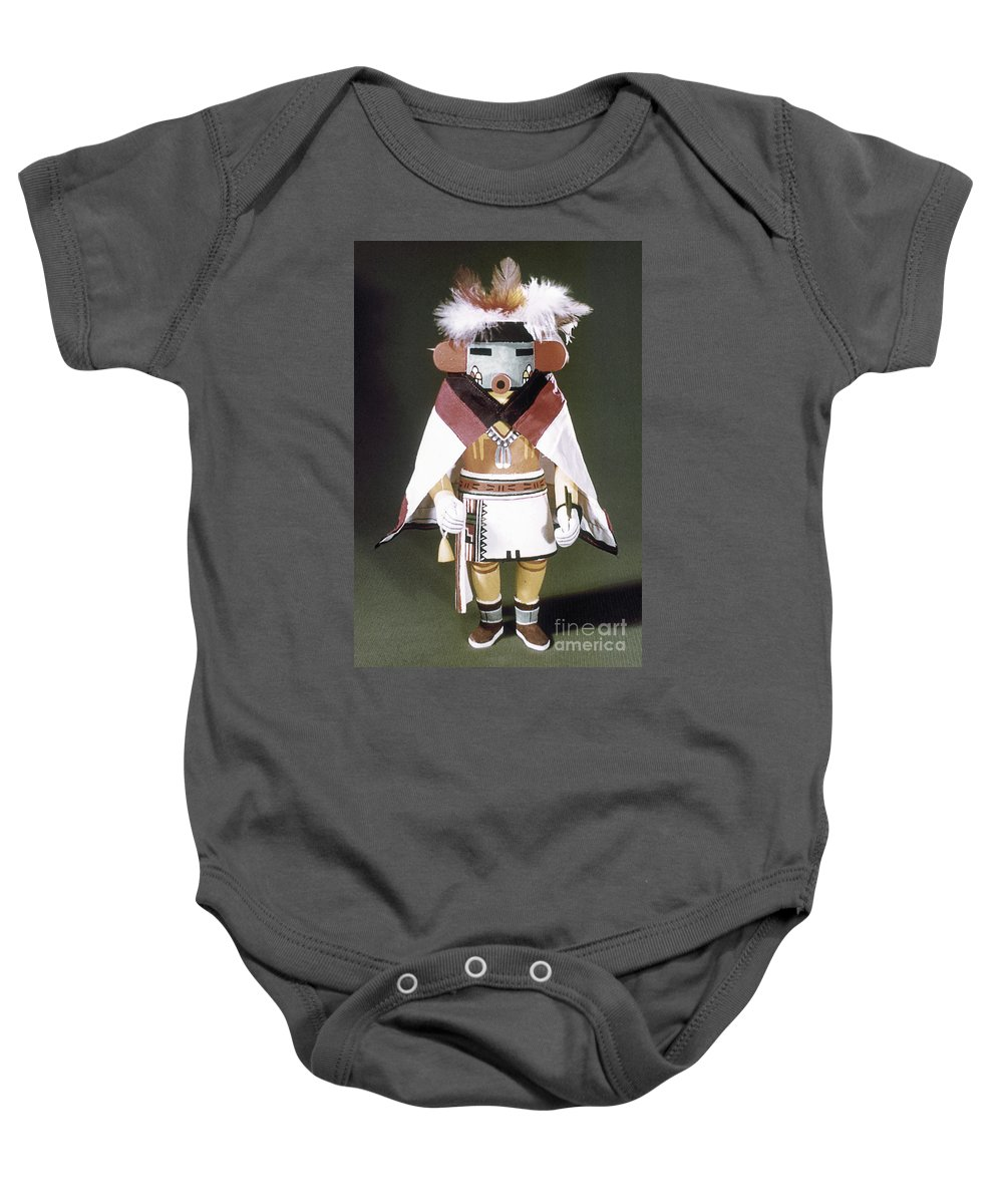 Arizona Baby Onesie featuring the photograph Hopi Kachina Doll by Granger