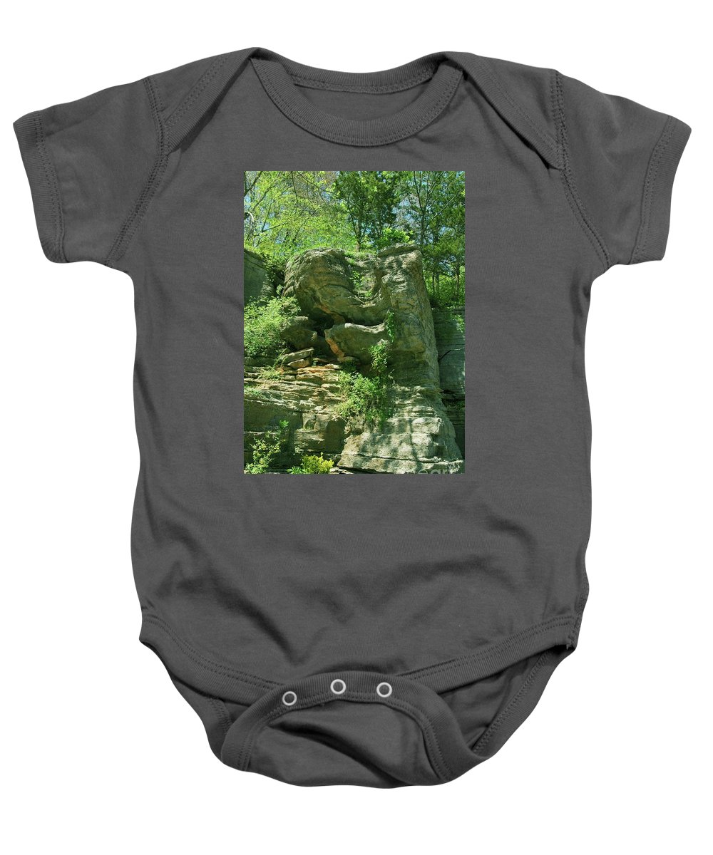 Hot Baby Onesie featuring the photograph Hot Springs by Kathleen Struckle