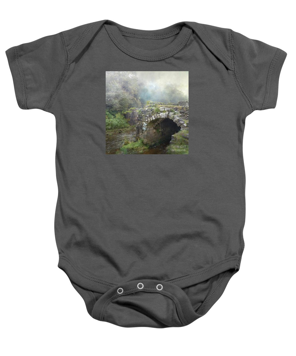 How Much Do You Love Her? Baby Onesie featuring the photograph How Much Do You Love Her? by LemonArt Photography