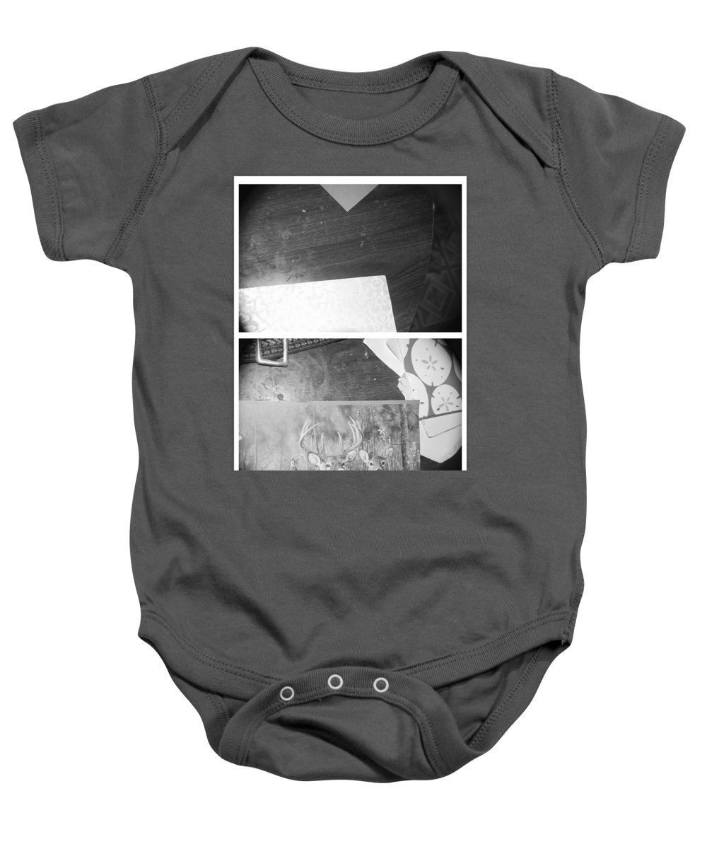 Abstract Baby Onesie featuring the photograph I Have Dreamed by Alwyn Glasgow