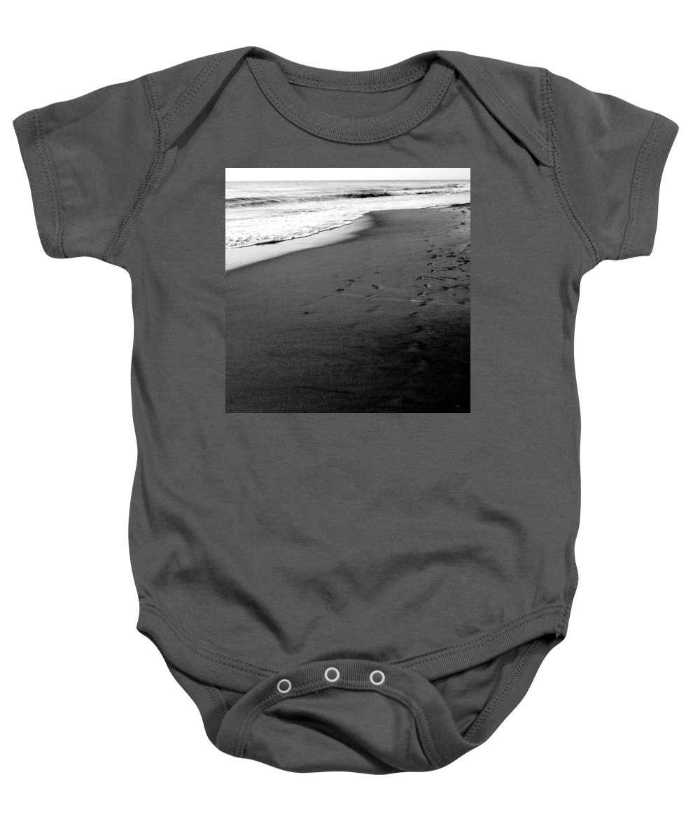 Photograph Baby Onesie featuring the photograph In My Thoughts by Jean Macaluso