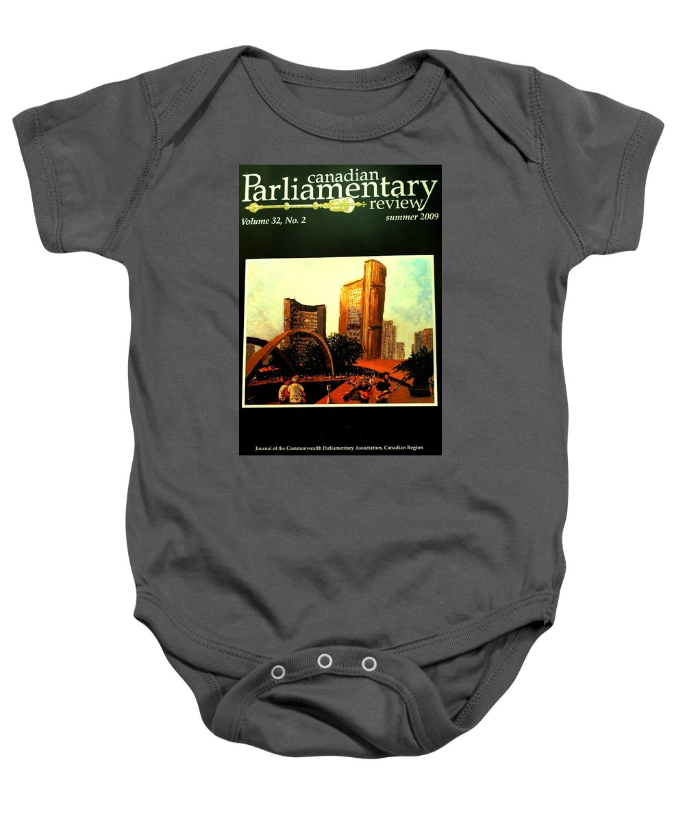 Canada Baby Onesie featuring the photograph Incredible by Ian MacDonald