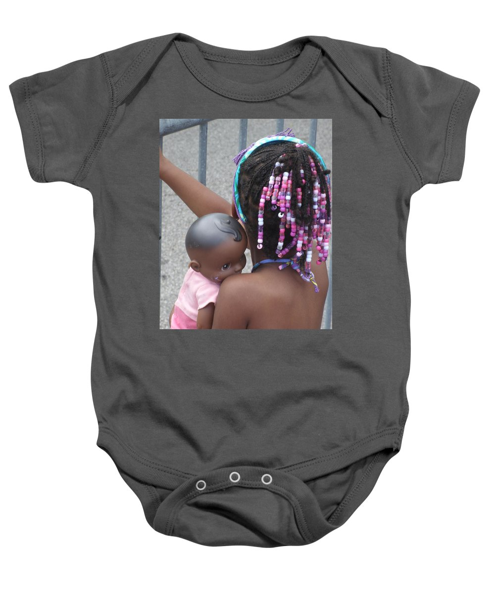 Photography Baby Onesie featuring the photograph Innocence II by Jan Gilmore