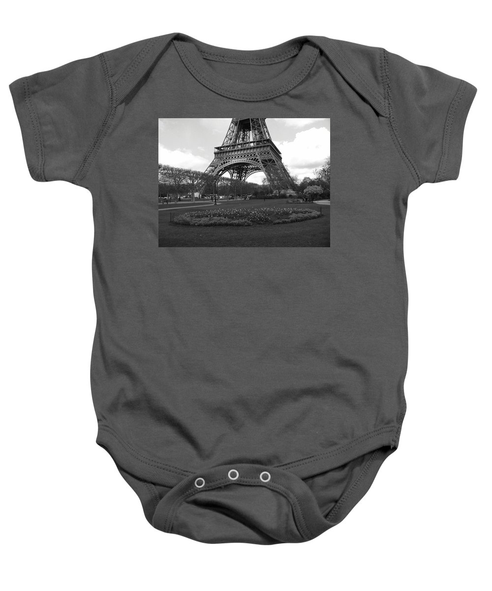 Paris Baby Onesie featuring the photograph Intersections by Tom Reynen