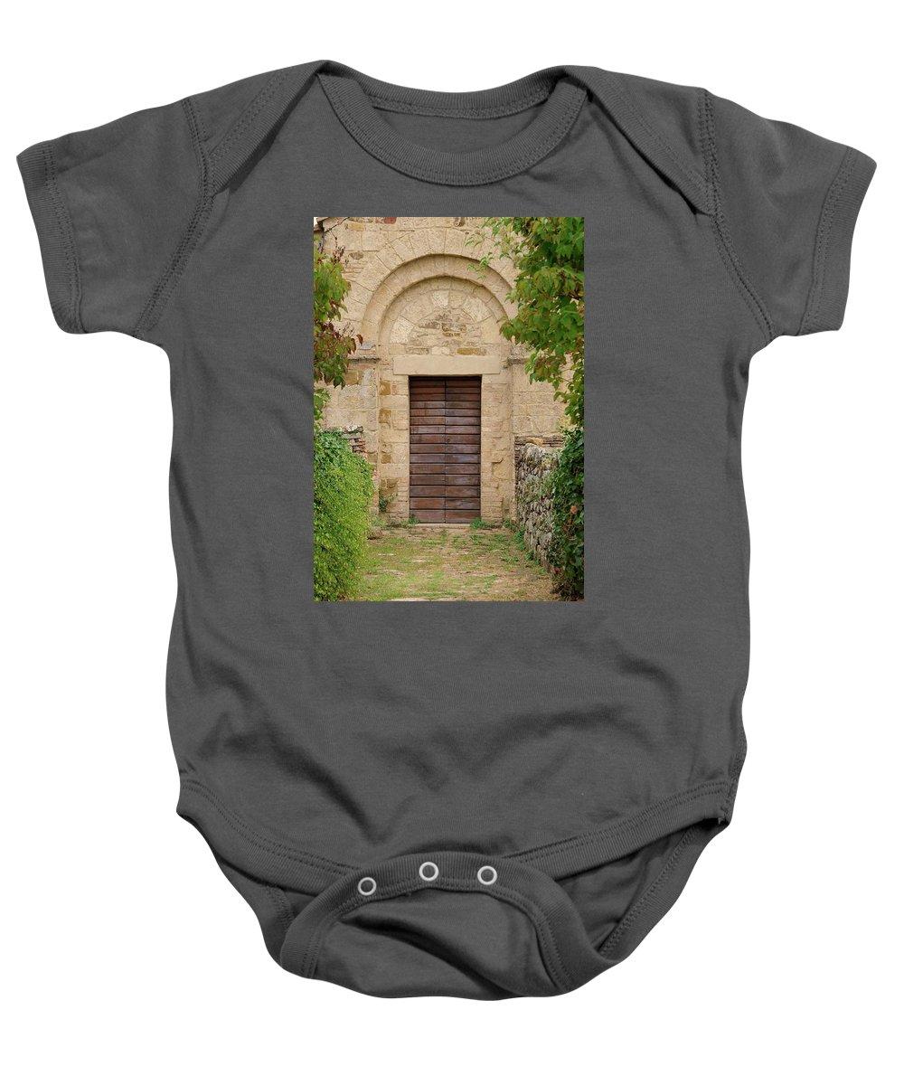 Italy Baby Onesie featuring the photograph Italy - Door Twenty Five by Jim Benest