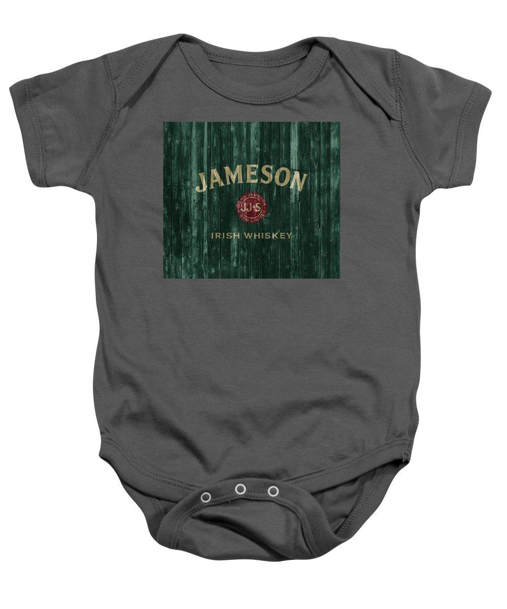 b05afdf071c Jameson Irish Whiskey Barn Door Onesie for Sale by Dan Sproul
