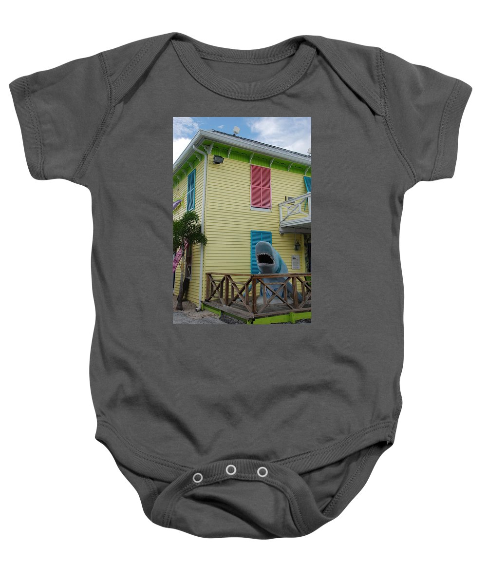 Jaws Baby Onesie featuring the photograph Jaws by Rob Hans