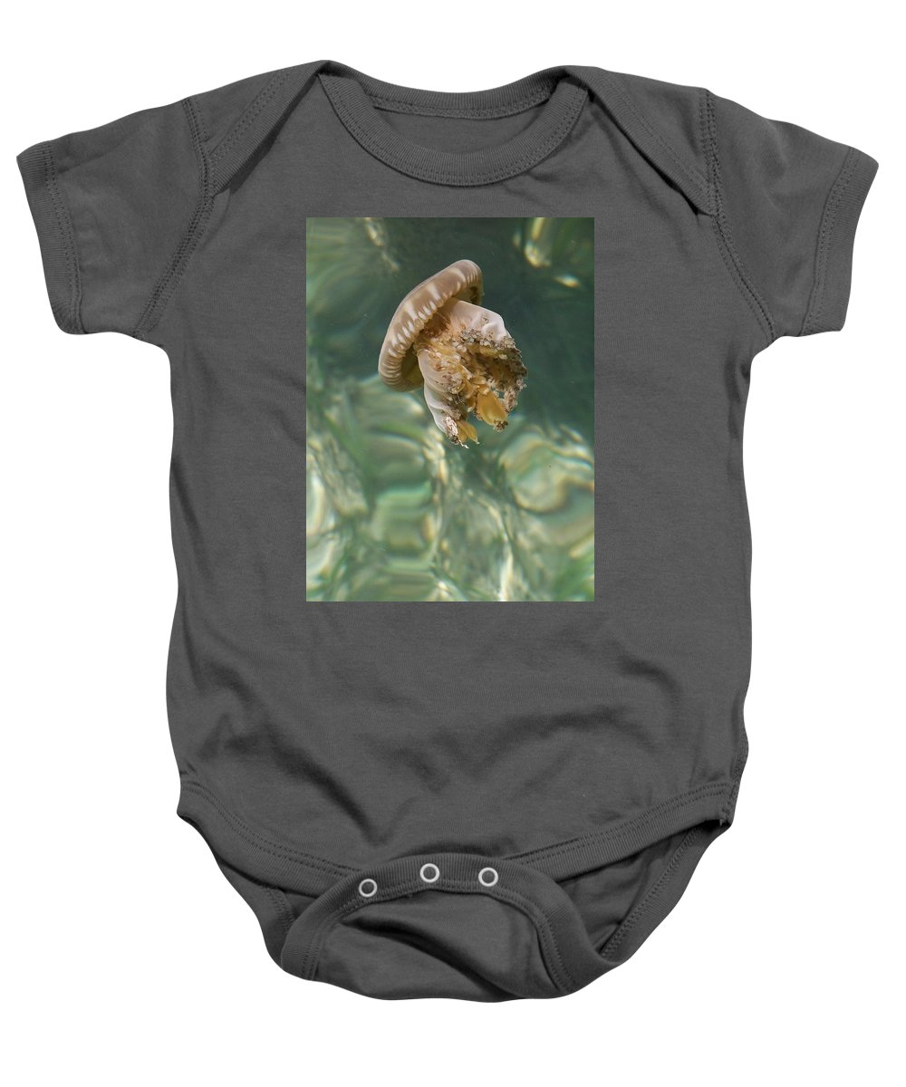 Jelly Baby Onesie featuring the photograph Jelly Belly by Gale Cochran-Smith