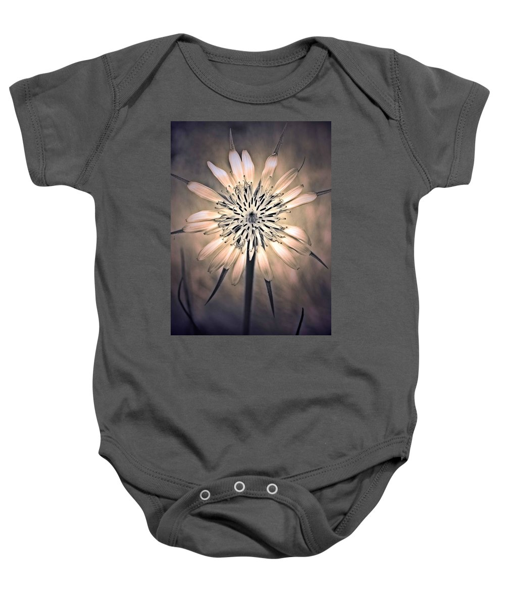 Flower Baby Onesie featuring the photograph July 1 2010 by Tara Turner