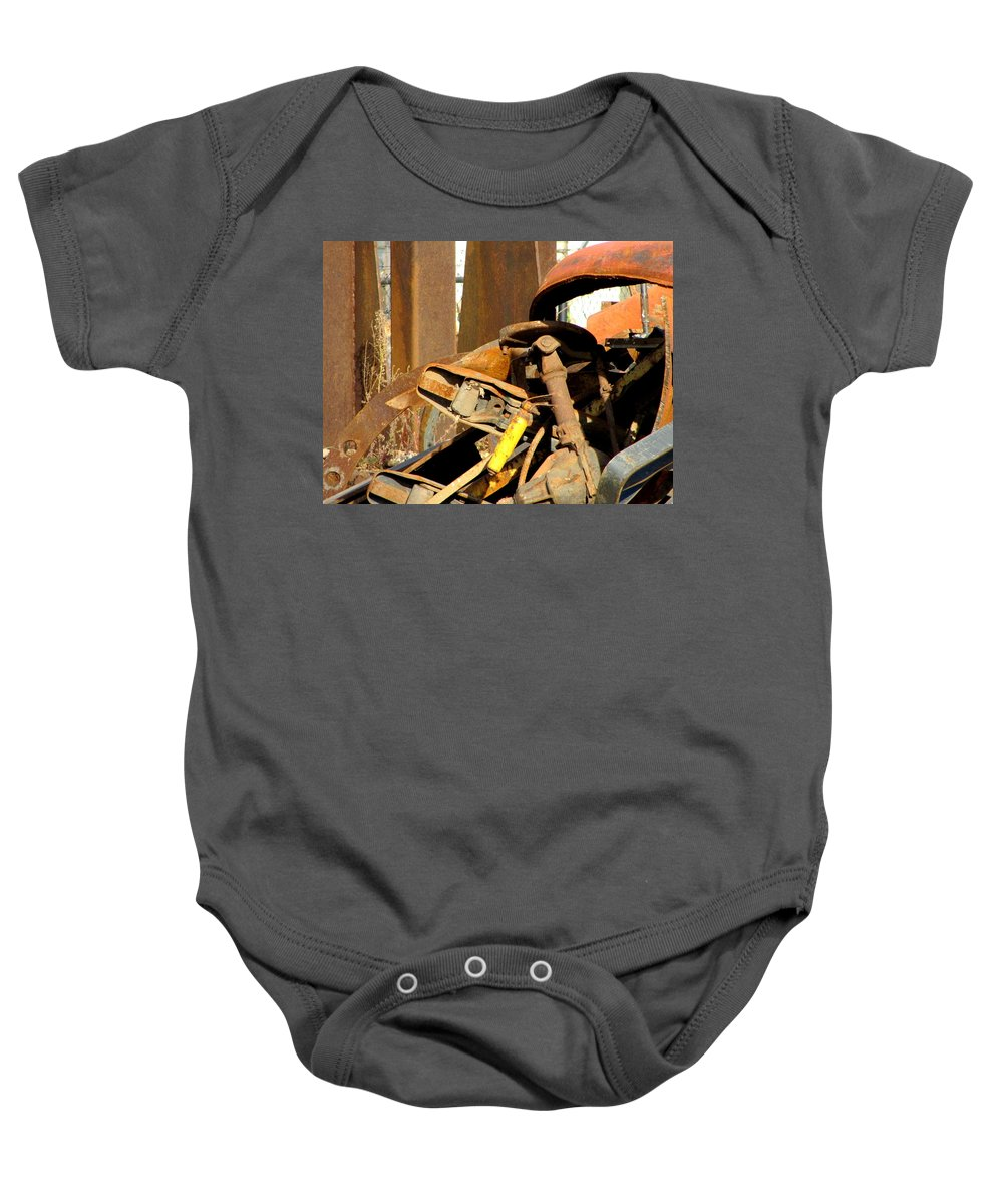 Photo Baby Onesie featuring the photograph Junk 15 by Anita Burgermeister