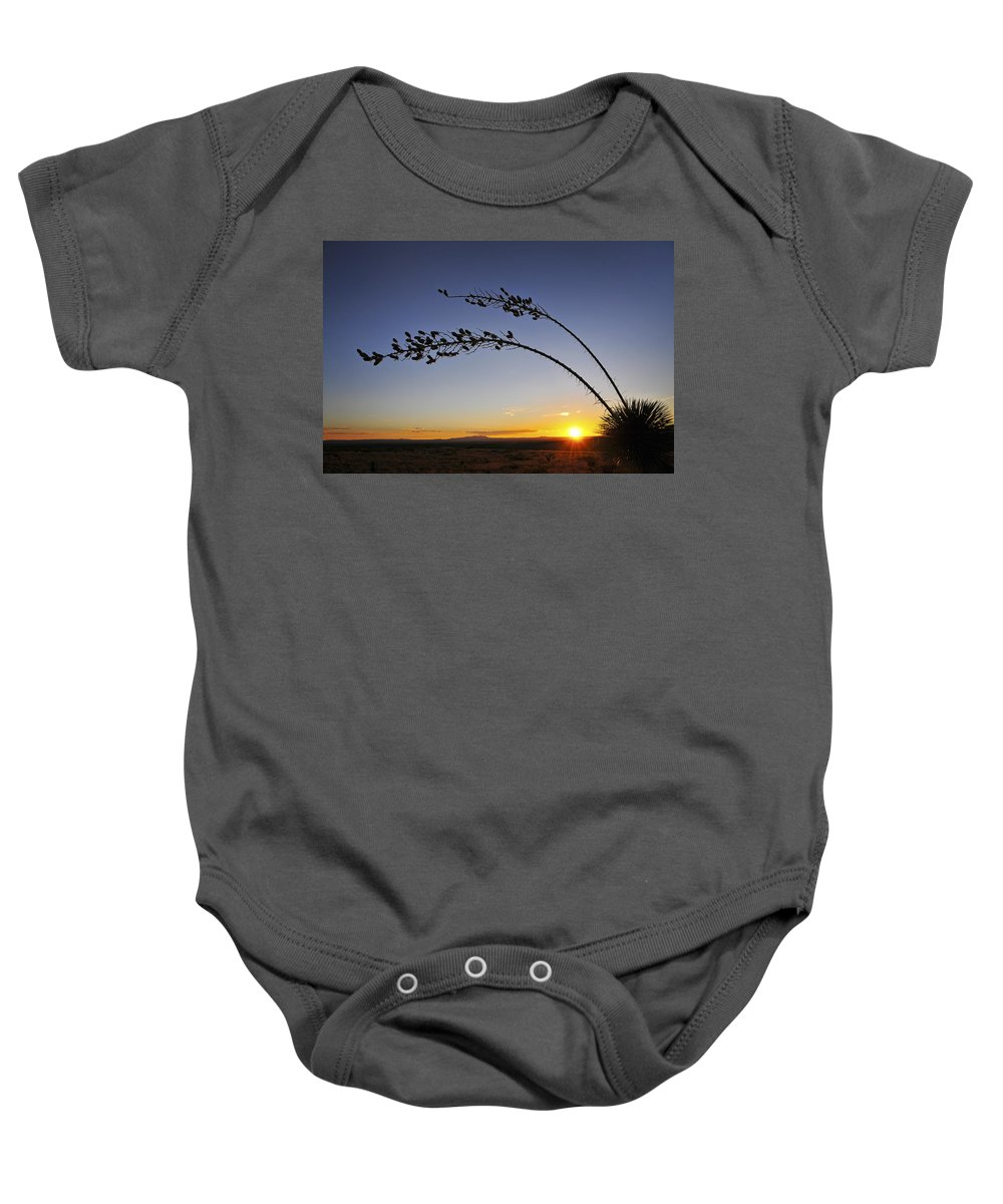 Killing Me Softly Baby Onesie featuring the photograph Killing Me Softly by Skip Hunt