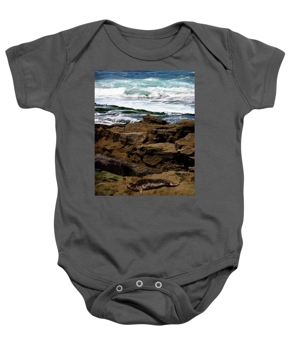 Beach Baby Onesie featuring the photograph Lazy Days by Anthony Jones