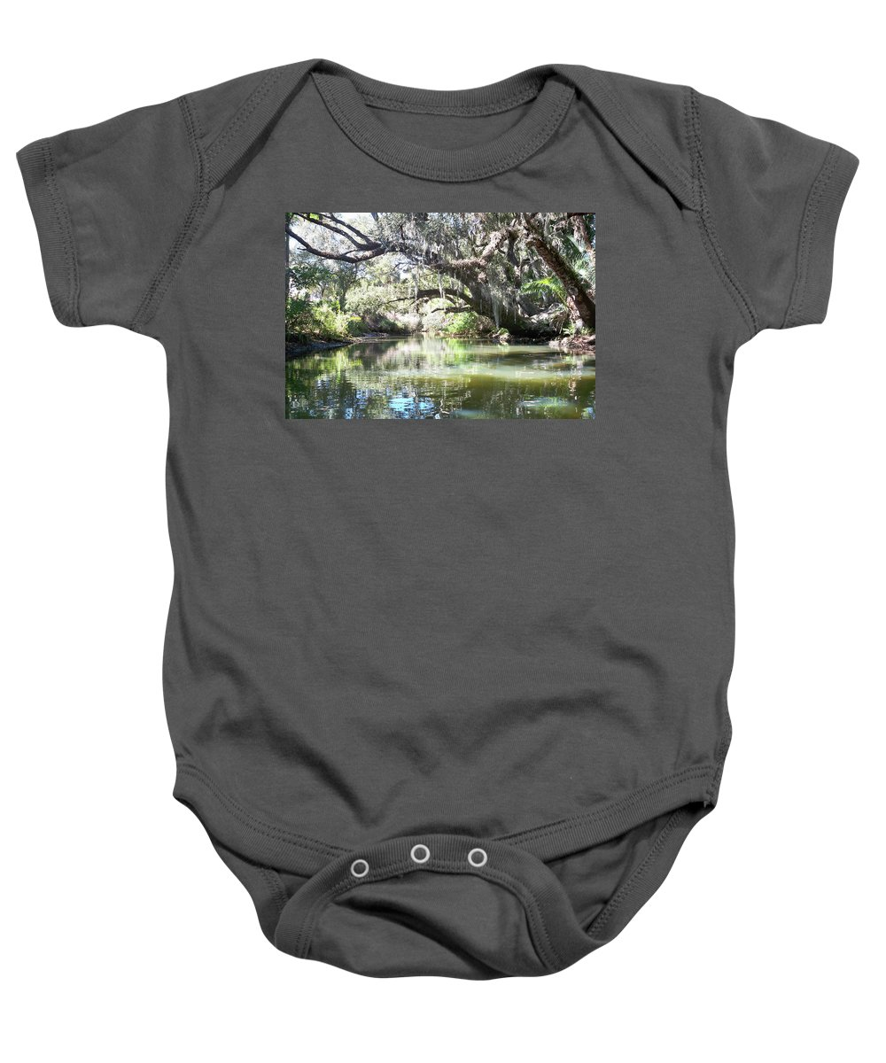 Florida Baby Onesie featuring the photograph Lazy River by Chris Andruskiewicz
