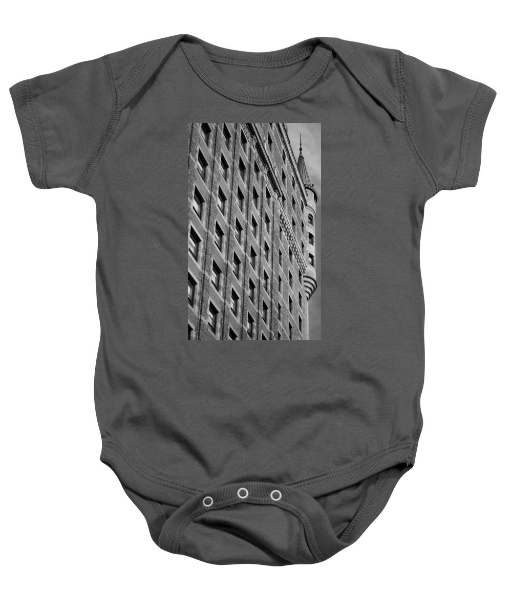 North America Baby Onesie featuring the photograph Le Chateau Frontenac by Juergen Weiss